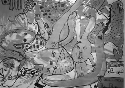 """""""童心看世界""""儿童创意画展作品"""